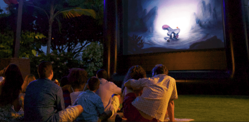 Do All Walt Disney World Resorts Offer Movies Under The Stars?