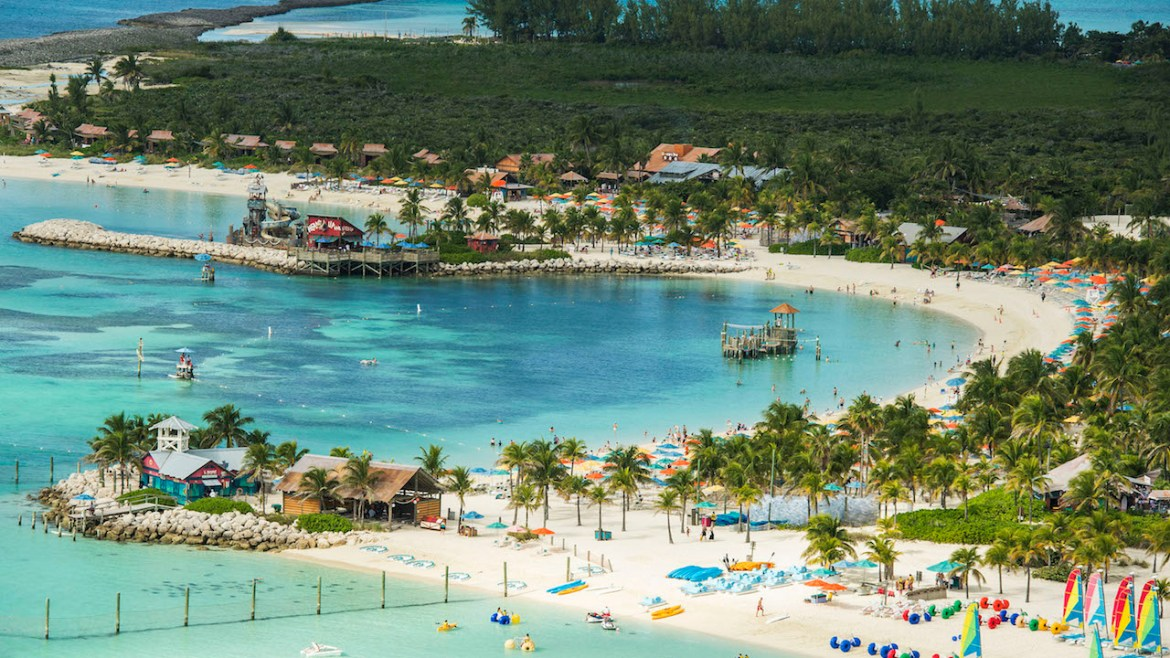 Relax or Play on Disney's Castaway Cay