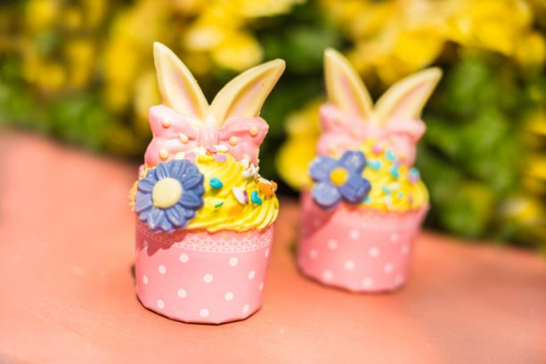 4 Must-Try Easter-themed Cupcakes Available at Disney World This Weekend