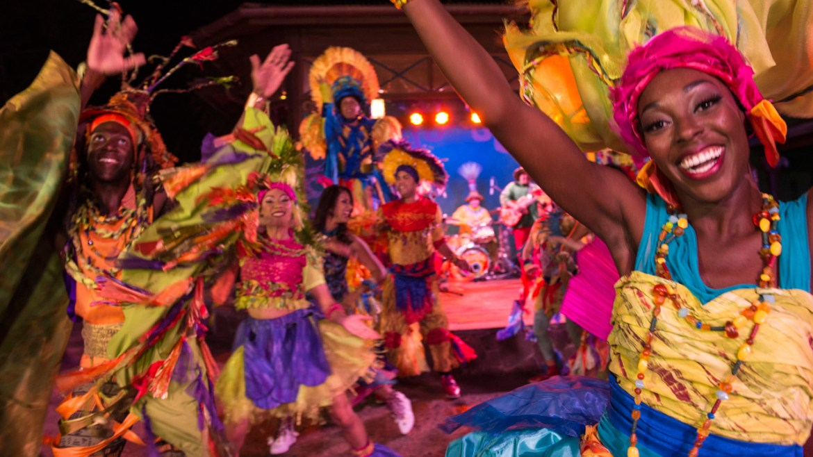 Your Guide To Animal Kingdom's Amazing Street Parties and Performers