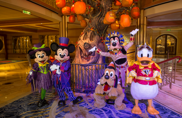 What are Halloween on the High Seas Sailings with Disney Cruise Line? 1