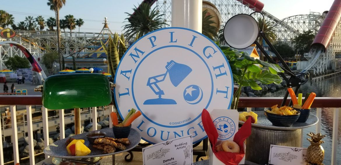 7 Delectable New Menu Items at Pixar Pier's Lamplight Lounge