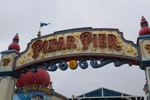 Pixar Pier Round-up