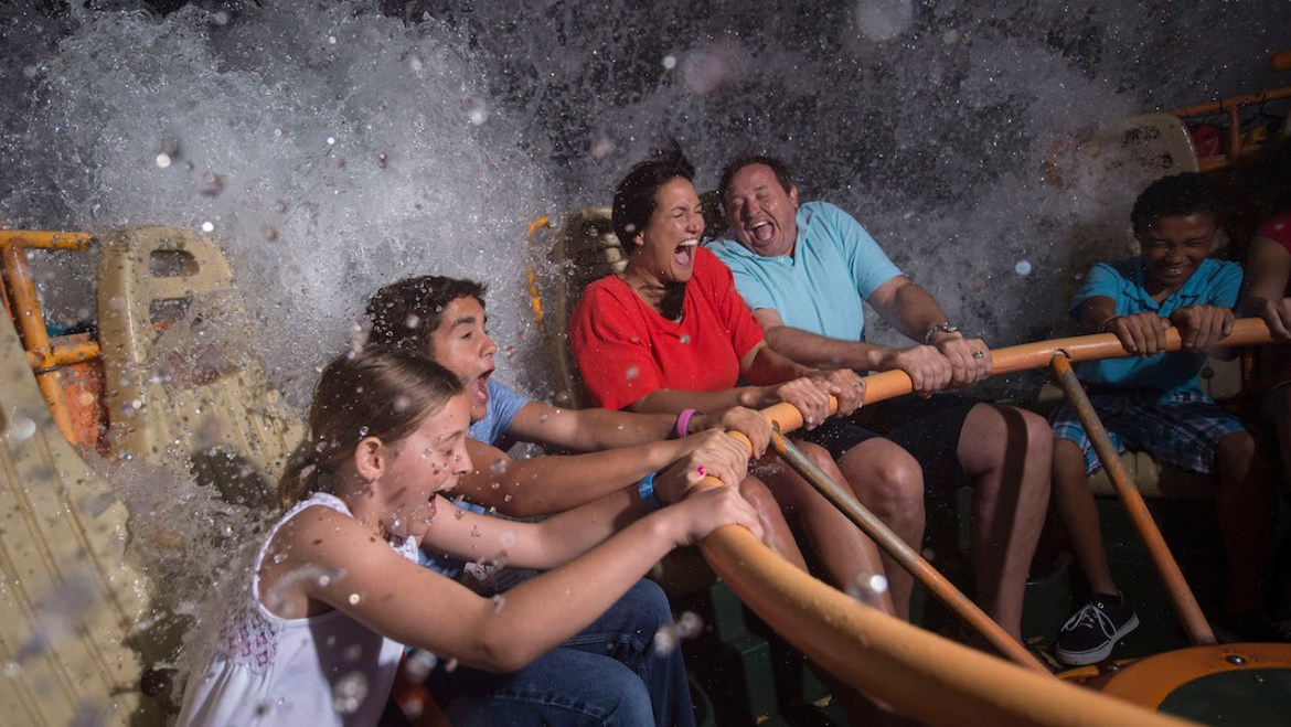 Take a History Tour Down the Kali River Rapids at Animal Kingdom