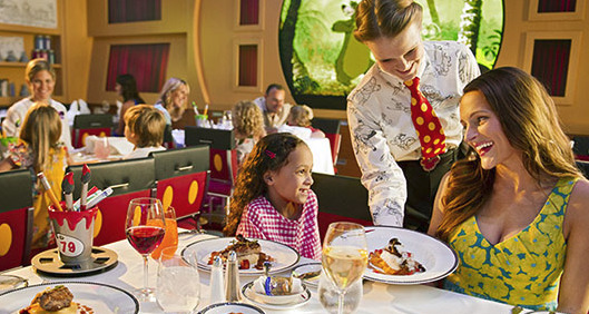 What is Disney Cruise Line's Dine and Play Program and How Does It Work?