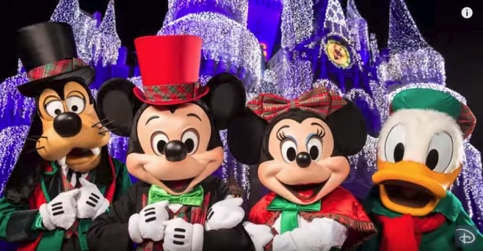 christmas party - Disney Christmas Party
