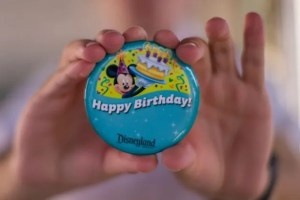 Disneyland Birthdays