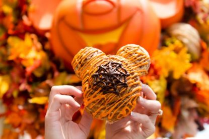 Halloween Cinnamon Roll