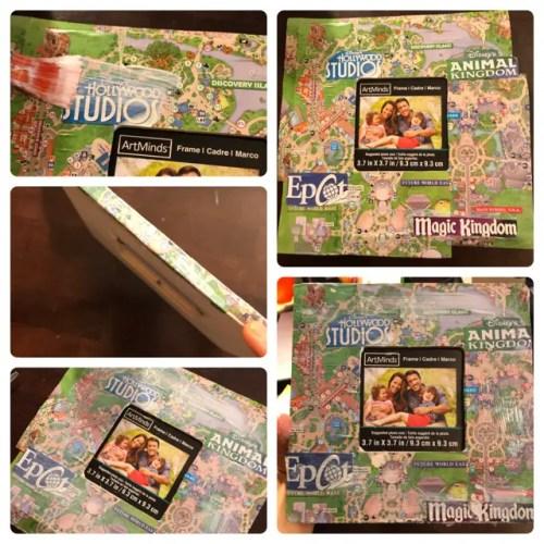 Disney DIY - Theme Park Map Picture Frames 3