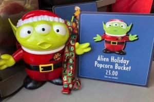 Christmas Popcorn Bucket