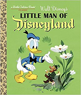 Little Man of Disneyland book cover
