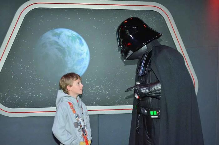 Photo with Darth Vader