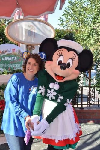Minnie Mouse Meet-n-Greet at Plaza Inn Disneyland