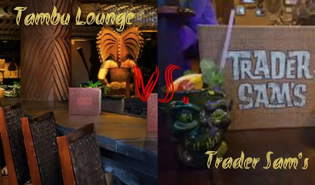 Disney Drinks Smackdown: Tambu Lounge vs. Trader Sam's