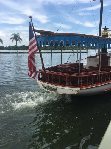 Boat to Magic Kingdom
