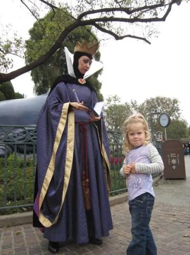 The Evil Queen in Disneyland