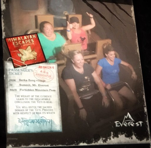 PhotoPass photo on Expedition Everest