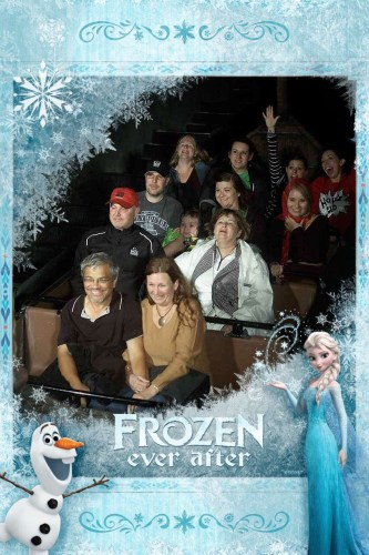 PhotoPass photo on Frozen Ever After