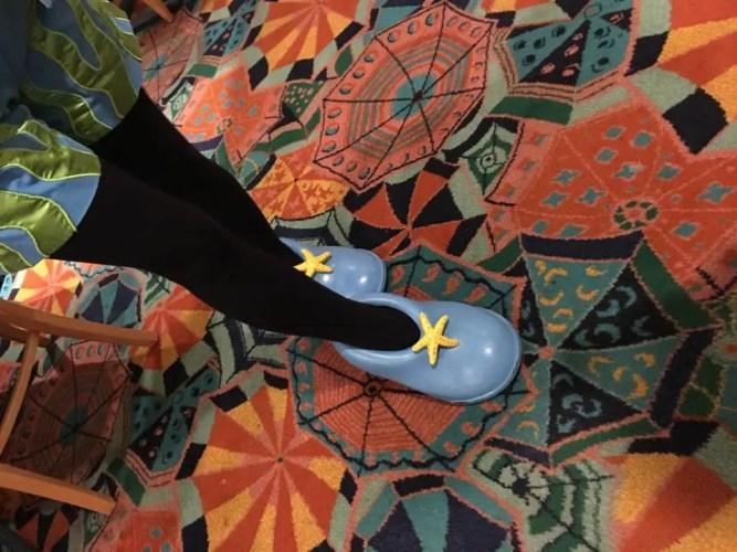 Minnie Mouse Beach Shoes