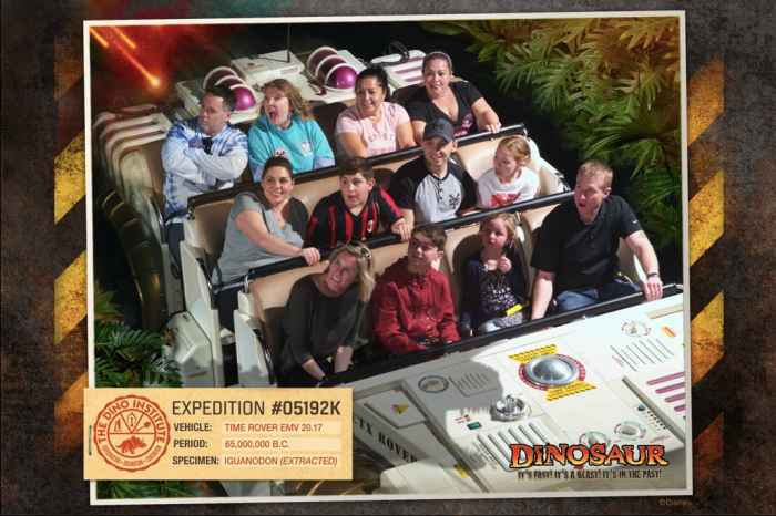 PhotoPass photo on Dinosaur