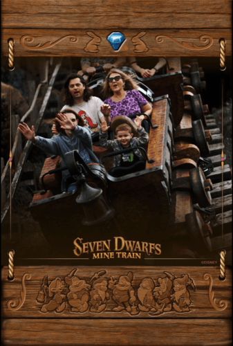 PhotoPass photo on 7 Dwarfs Mine Train