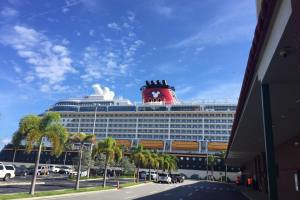 Disney Cruise Line Check-In & Arrival at Port Canaveral 37