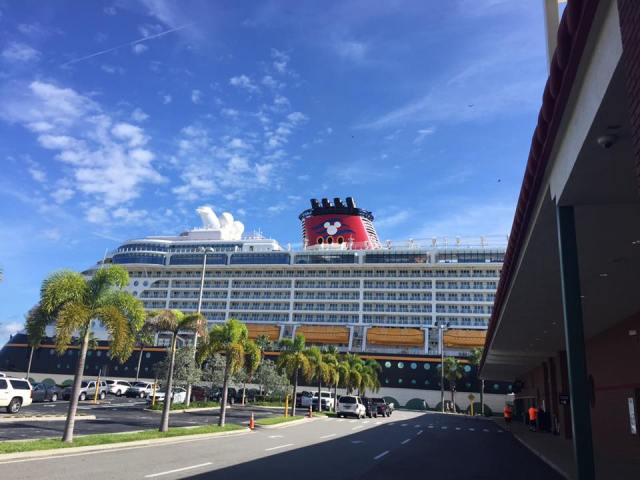 Disney Cruise Line Check-In & Arrival at Port Canaveral 1