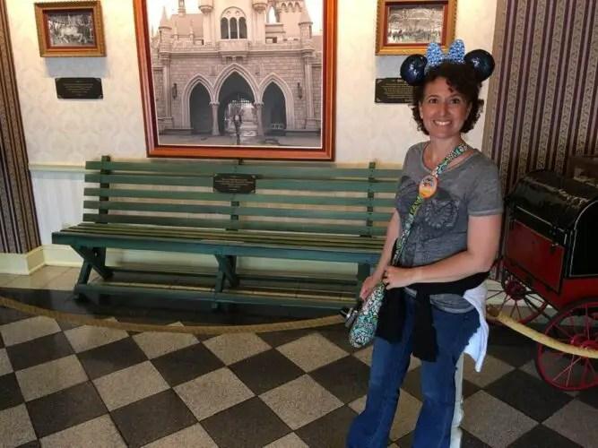 Griffith Park Bench Disneyland history