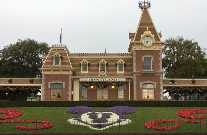 Front of Disneyland