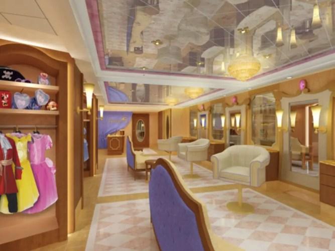 Disney Cruise Line Bibbidi Bobbidi Boutique