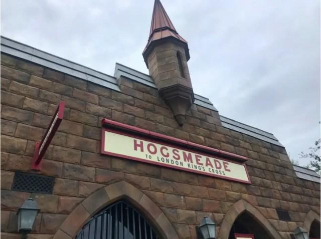 Hogsmeade Station Sign
