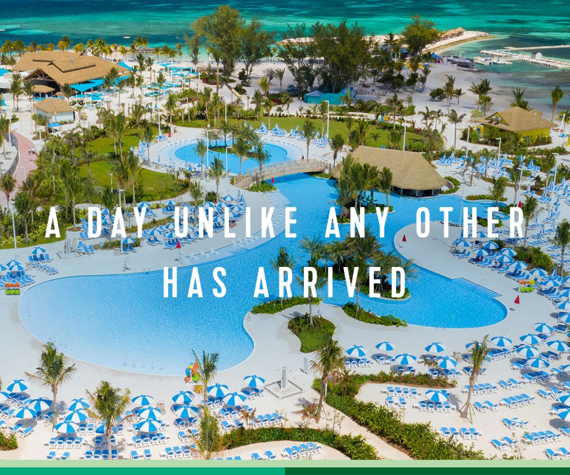Perfect Day at CocoCay is here!