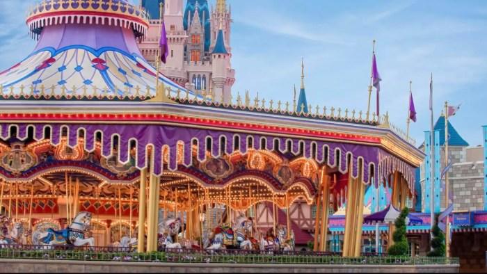 Cinderella's Golden Carrousel to Prince Charming Regal Carrousel: Backstory
