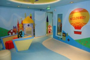 Disney Cruise It's a small world nursery