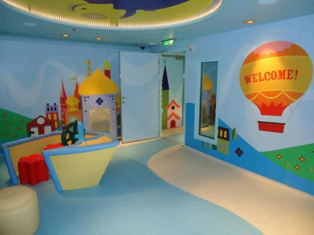 Disney Cruise It's a small world nursery