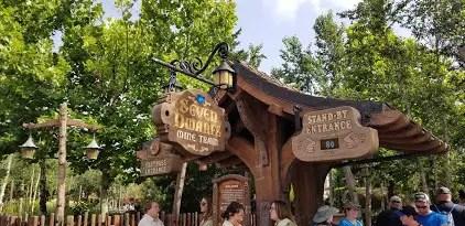 Top 8 Attraction Queues at Walt Disney World