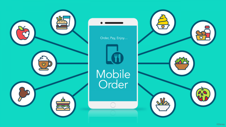 Using Mobile Ordering while at Walt Disney World