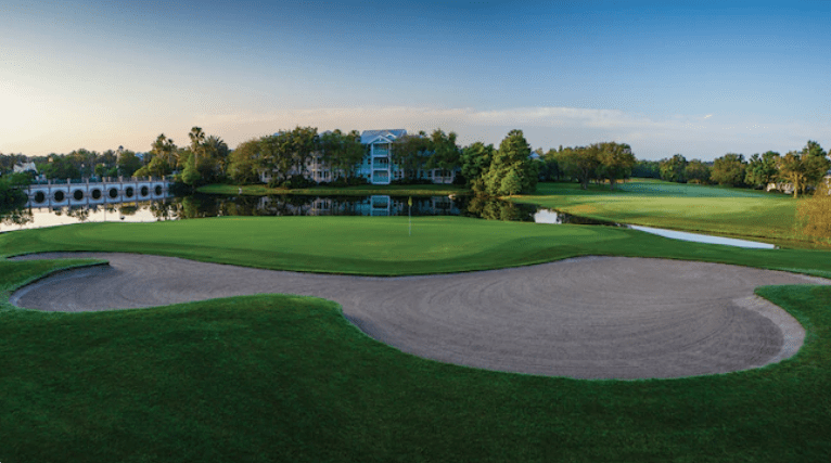 Where can I Golf at Walt Disney World?