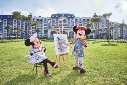 Celebrating Mickey & Minnie's Birthday from around the Globe