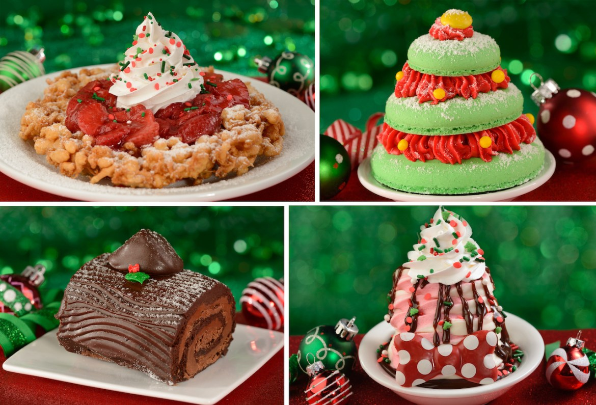 Tasty Holiday Eats and Treats You can find at Magic Kingdom