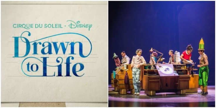 Get Transported Into A World Of Disney Animation With Cirque Du Soleil Drawn To Life!