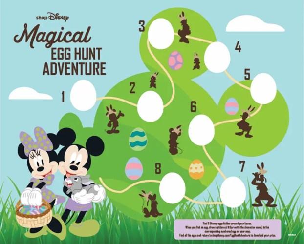 shopDisney egg hunt