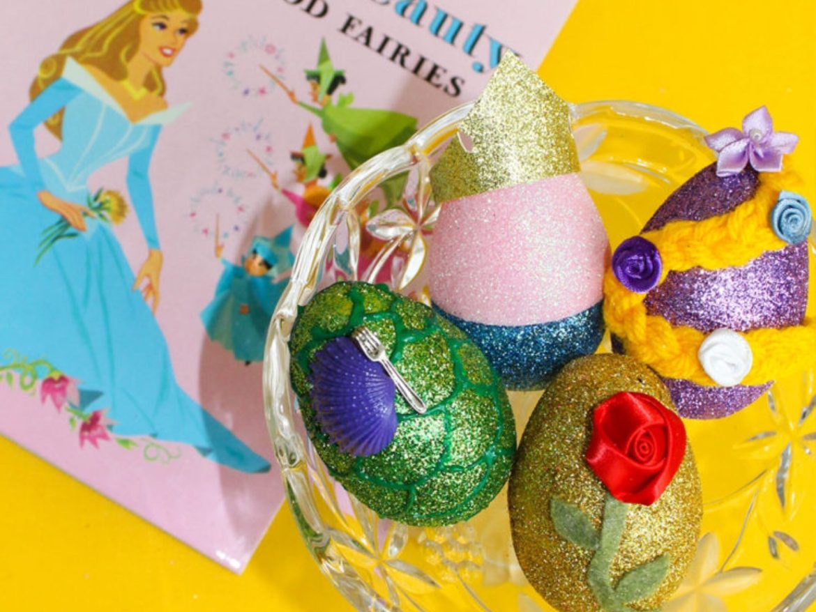 Spring Into Some Royal Fun With These Disney Princess Easter Eggs!
