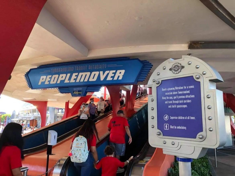 Celebrating the Tomorrowland Transit Authority PeopleMover