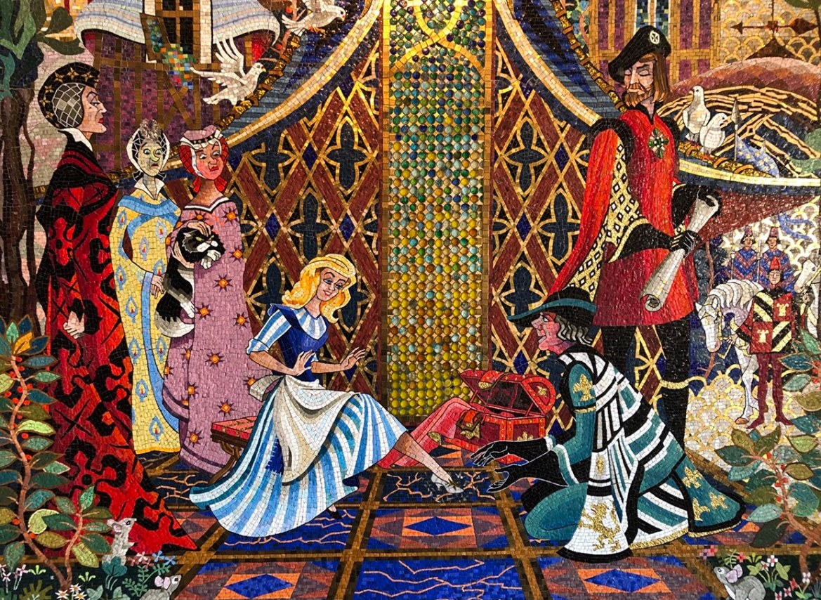 Exploring Cinderella Castle's Mosaic Murals