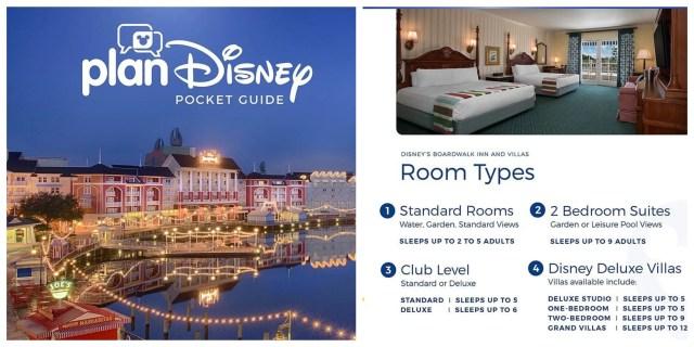 Pocket Guide to Disney's Boardwalk Inn and Villas from planDisney 1