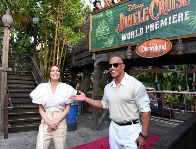 Jungle Cruise premiere