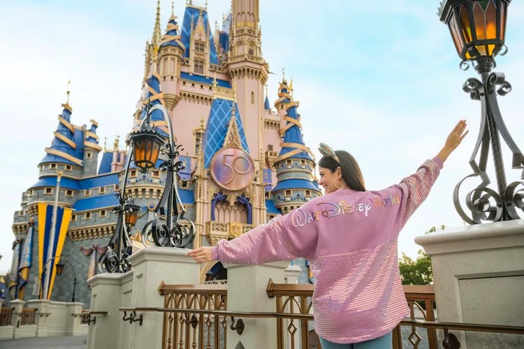 Dazzling Walt Disney World 50th Anniversary Merchandise Collections Unveiled!