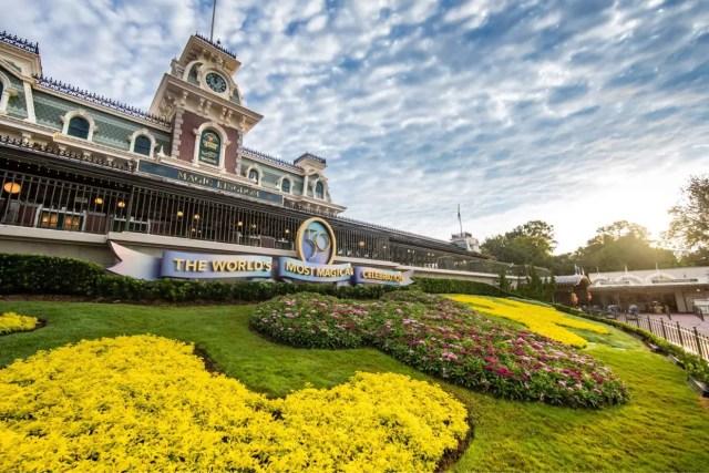Magic Kingdom prepares for the Walt Disney World 50th Anniversary Celebration 4