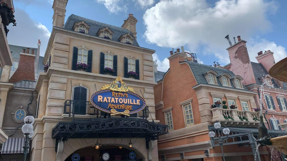 Take A Closer Look At All The Details In Remy's Ratatouille Adventure And The France Pavilion Expansion!